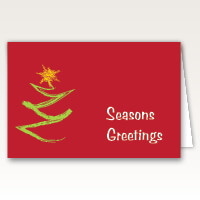 Bright Christmas Cards for Same Day Printing