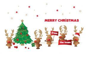Christmas Team Card