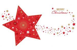Shooting Star Christmas Card