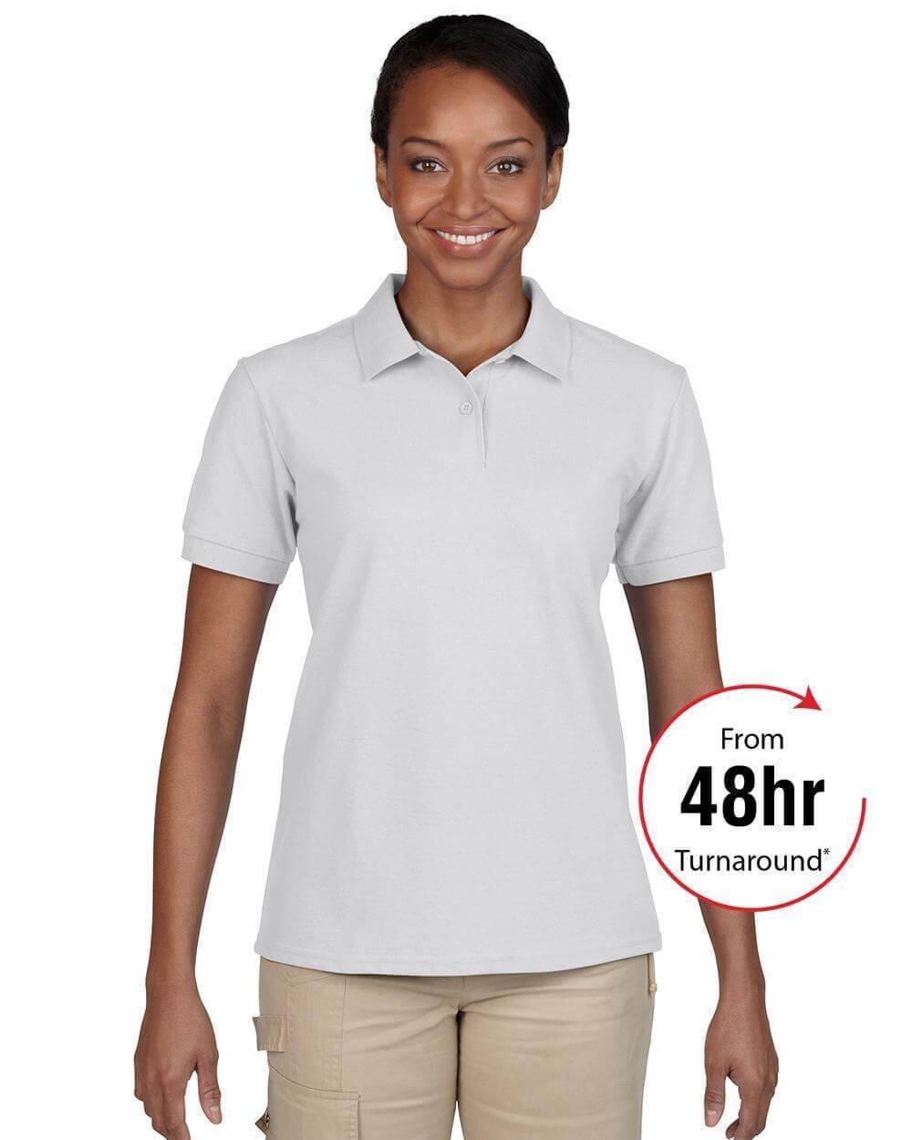 Ladies dryblend t shirt gildan for Same day t shirt printing