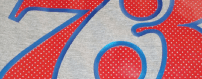 perforated tee print