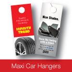 Maxi Car Hanger Voucher