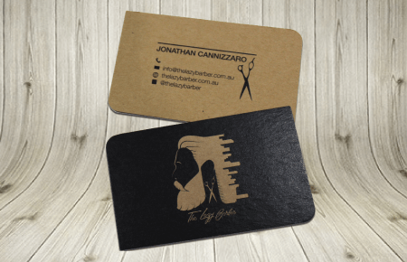 Express Kraft Business Cards