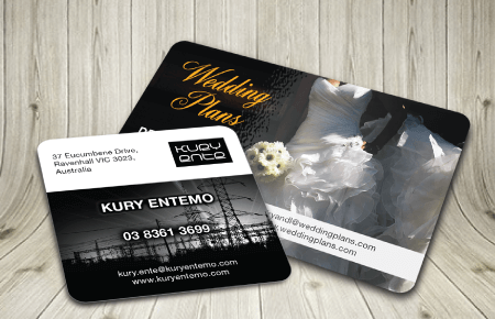 High Quality Round Corner Business Cards