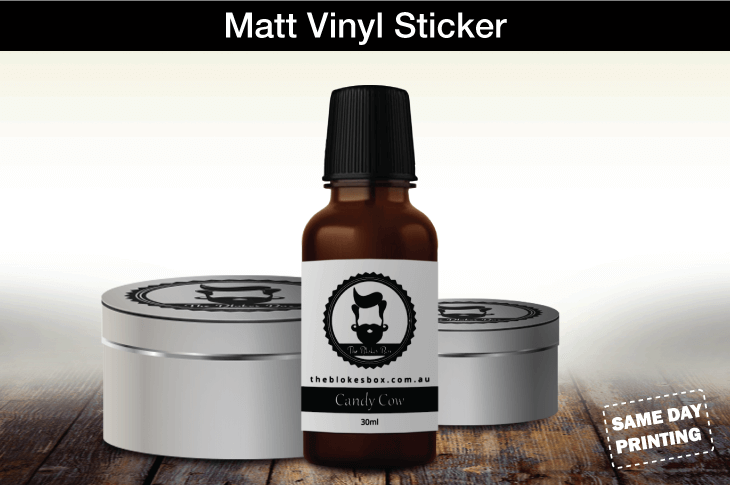 Matt Vinyl Sticker