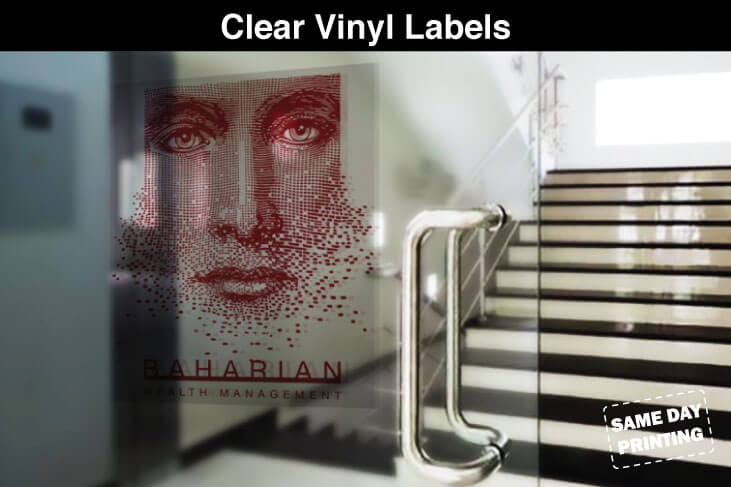 Clear Vinyl Labels