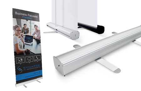 Classic Single-Sided Pull Up Banners