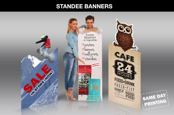 Standee banners