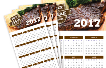 Full Colour Same Day Fridge Calendars
