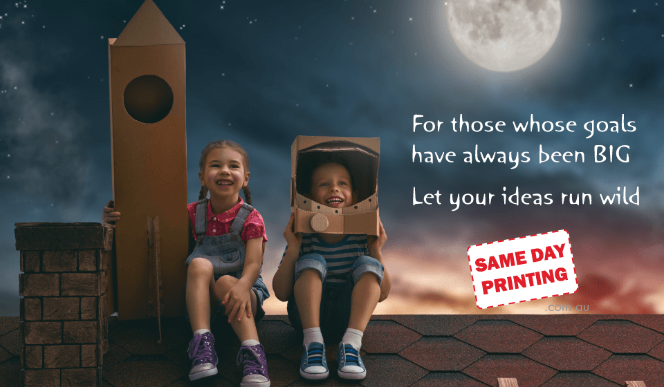 Achieve big things with Same Day Printing