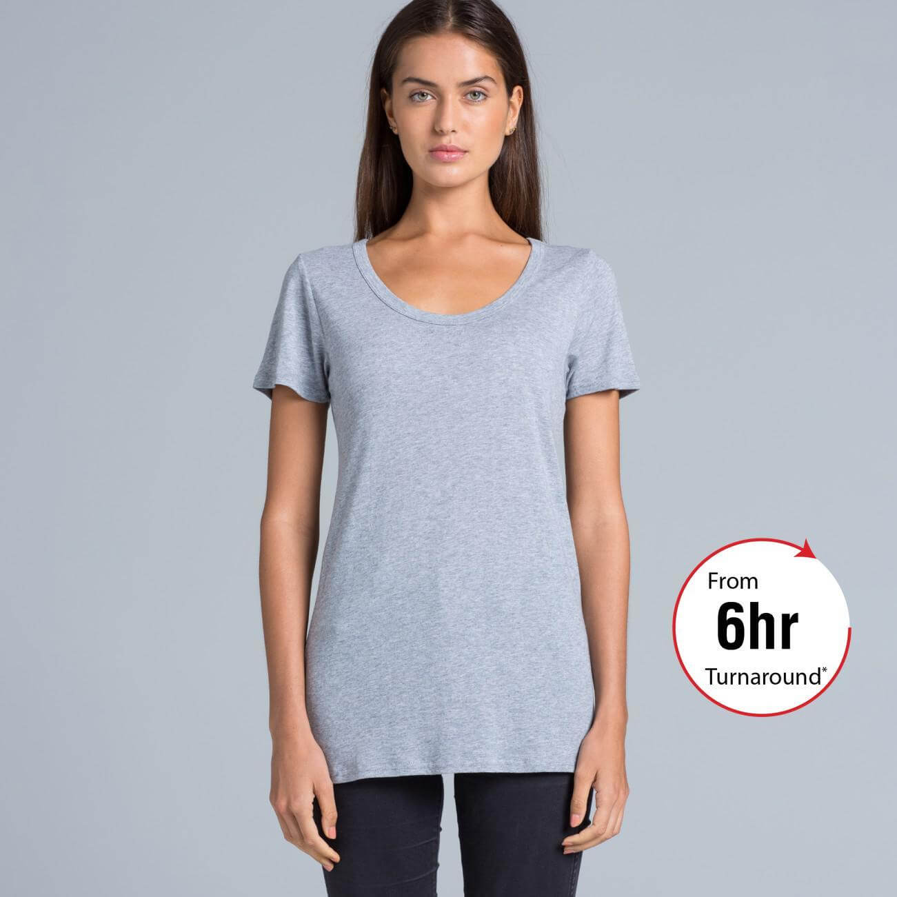 Ladies shutter t shirt as colour for Same day t shirt printing