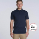 Mens Unisex Chad Combed Cotton Polo