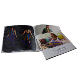 Eye-catching Full Color Saddle Stitched Books Same Day Printing