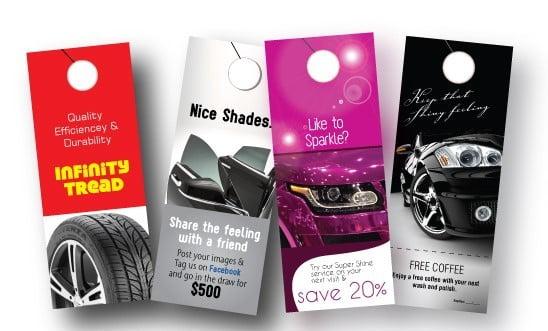 Car Hangers In Car Marketing