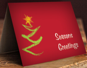 Exclusive Same Day Designer Christmas Cards