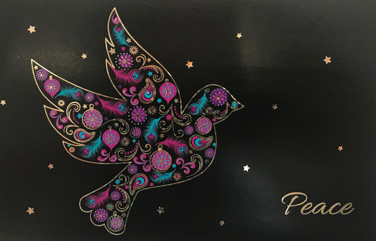 Charity Christmas Dove of Peace