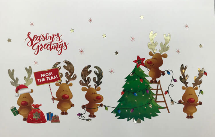 Charity Christmas Card Light-up Christmas