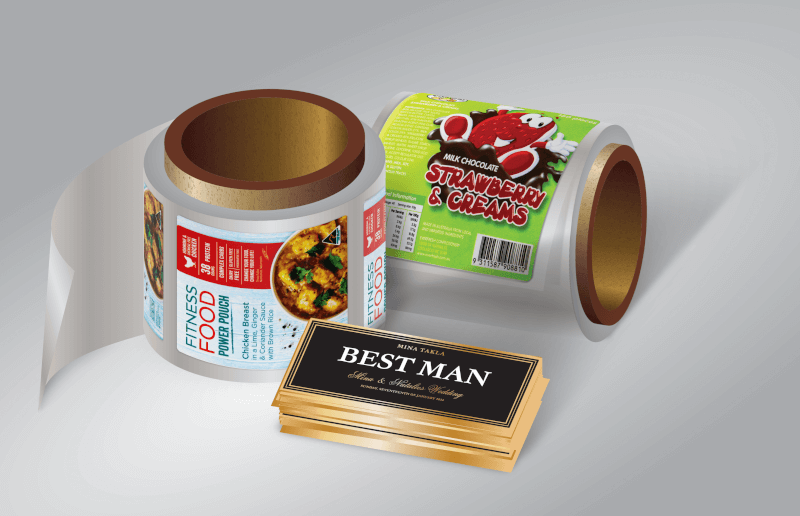 Premium Quality Roll Product Labels