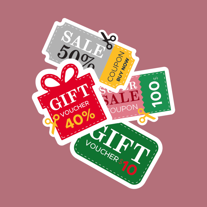 12 Days of Christmas Marketing Idea with same day printing of gift voucher