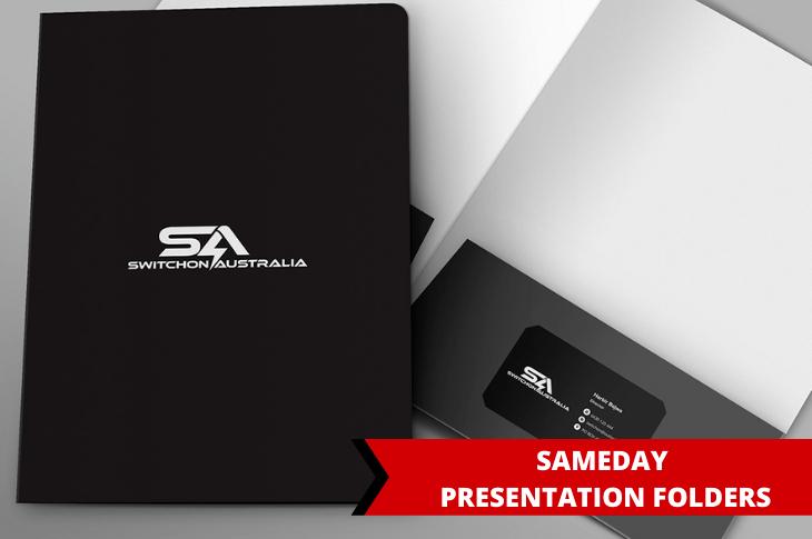 Presentation Folders printing in Melbourne, Victoria, Australia