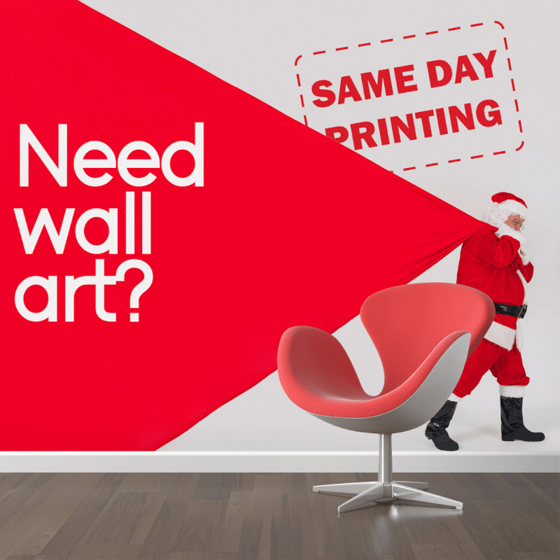 12 Days of Christmas Marketing tips and ideas with our Wall Ads and Arts