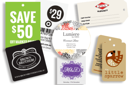 High Quality Swing Tags - Packaging Category