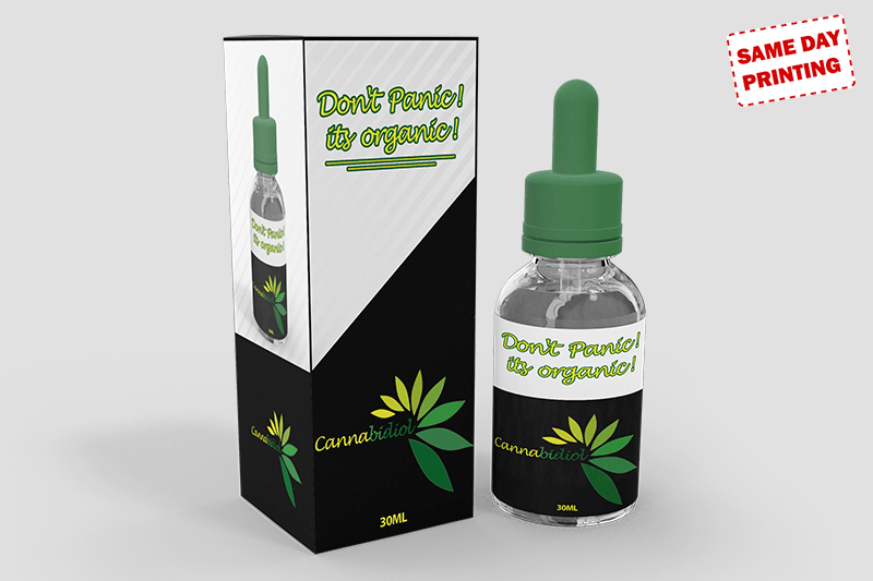 CBD oil Product Boxes and Labels