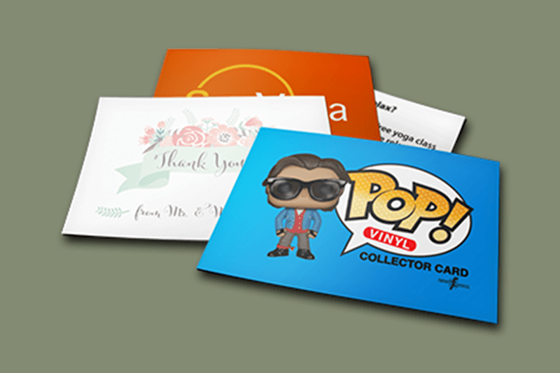 Classic Marketing Cards options