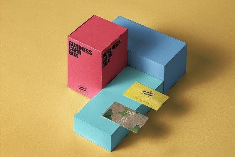 Custom Printed Box Business Cards