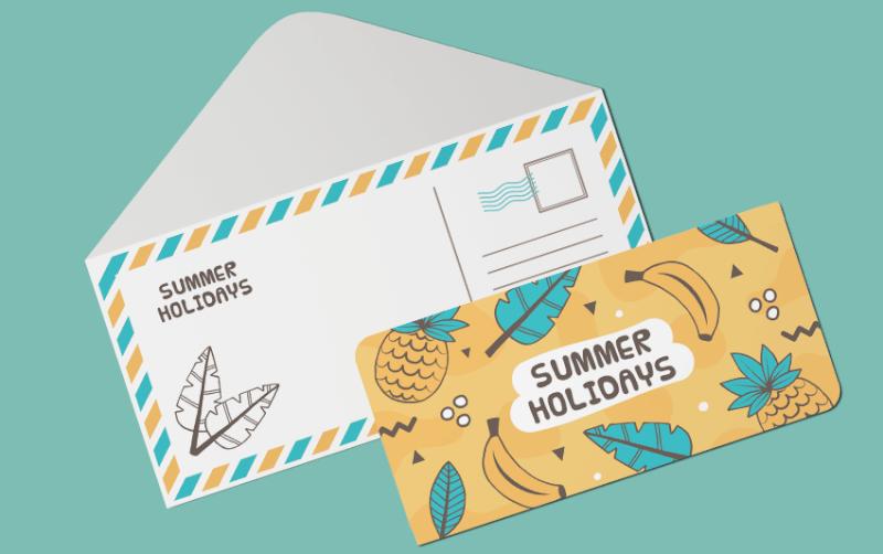 Diagonal Marketing Cards