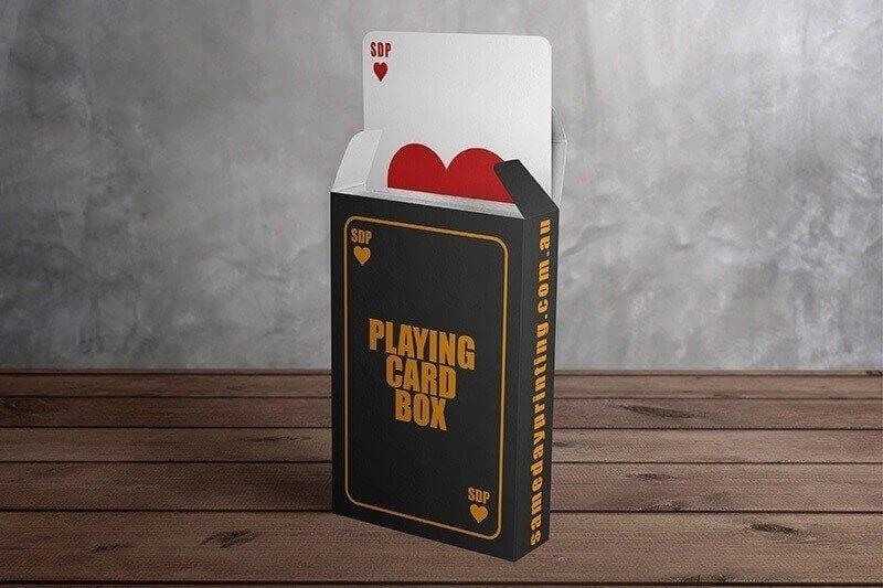 Playing Card Boxes Printing - Same Day