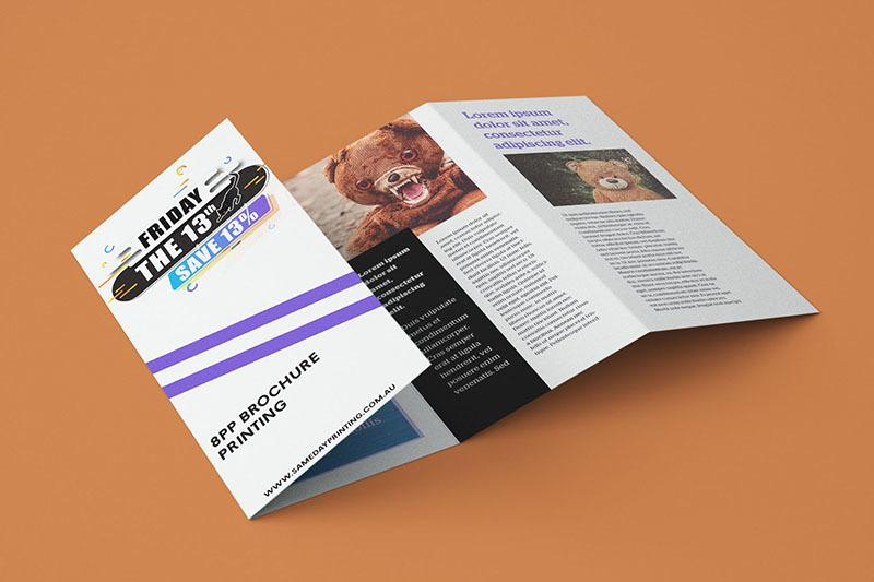 4pp Brochure Printing