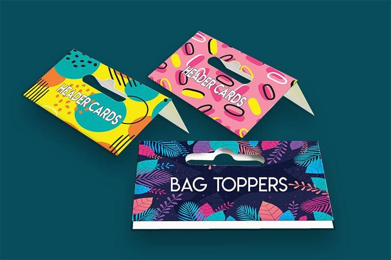 Bag Toppers - Same Day Printing