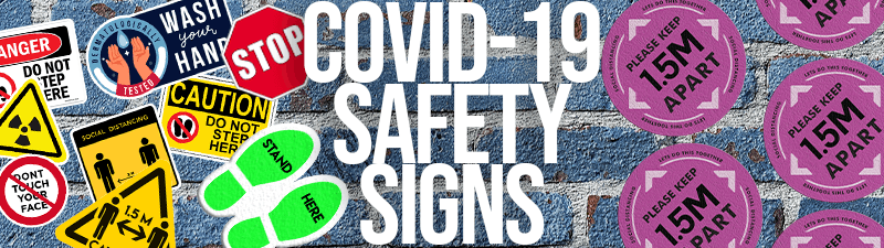 Safety signs and Awareness Against COVID-19 Banner 2