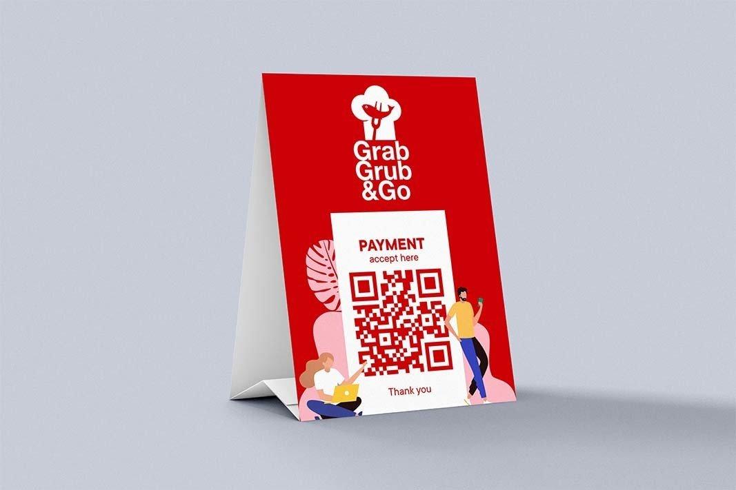 payment tent cards -samedayprinting