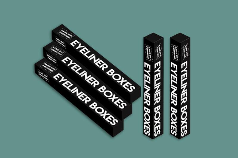 Custom Eye Liner box solutions - Same Day Printing