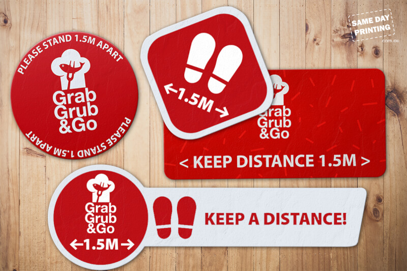 floor decals - grab grub and go - sdp v4