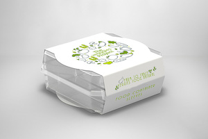 Farm to table Veggies - Food Container Sleeves