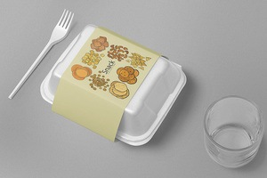 Snack Collections Food Container Sleeves - Printing