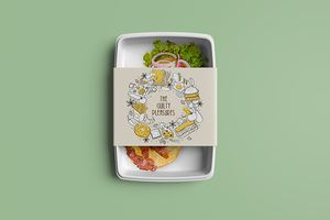 The Guilty Pleasures Food Container Sleeves - Printing