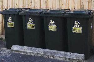 BinBoy Environmental - Product Sticker labels v3