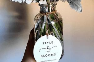 Style N Blooms - Swing Tag