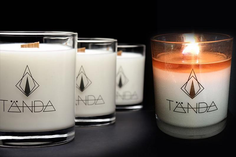 Tanda Mordern Candle - Clear Stickers - 2