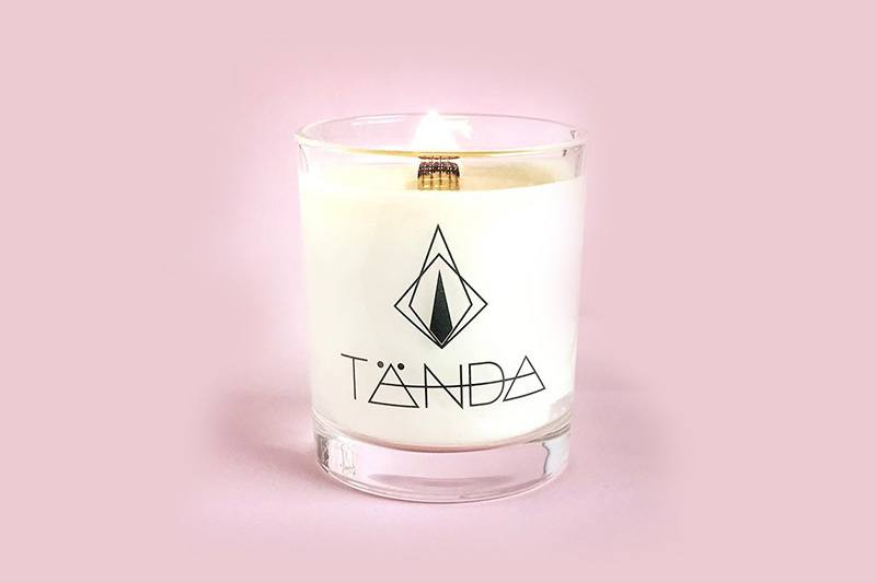 Tanda Mordern Candle - Clear Stickers