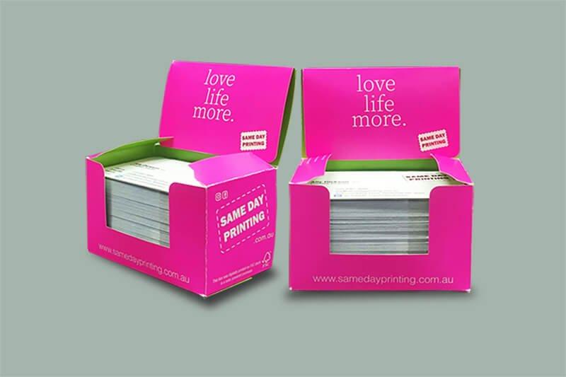 Custom Business Card Box Printing - Same Day