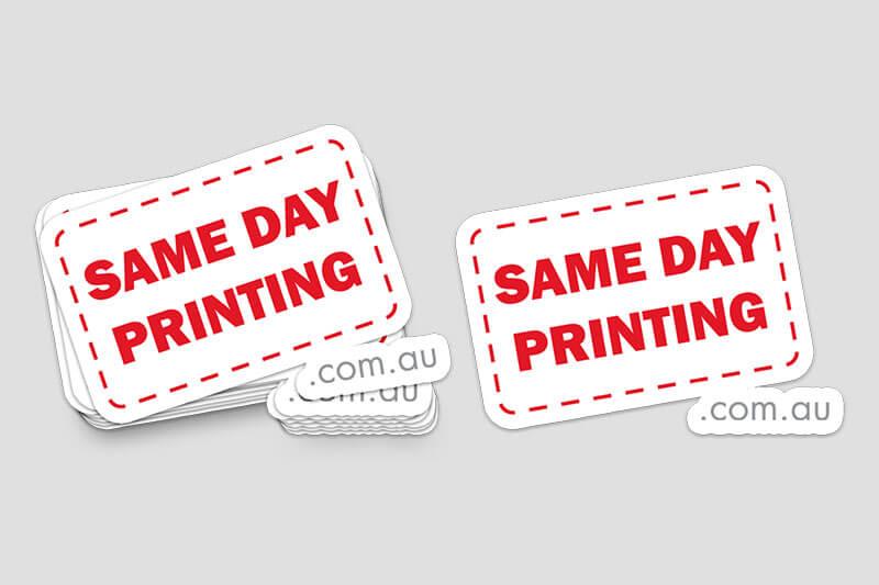 Die-Cut Stickers SDPLOGO - Same Day Printing Custom Stickers