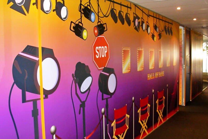 ImageJet - Floor Grip - Wall Design Hall Of Fame