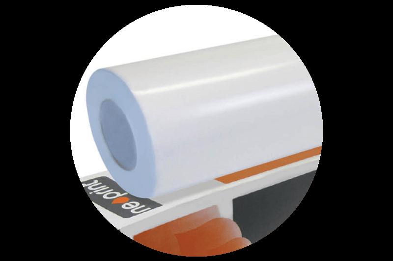 Neoprint SS1000 Concrete Vinyl White Gloss