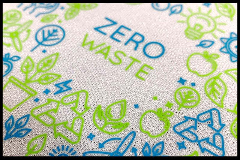 Zero Waste - Same Day Printing x Vicon heat transfer