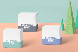 Custom Box Printing - Same Day